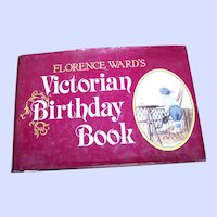 "Charming Hard Cover Book "" The Victorian Birthday Book "" Great for a Gift for your Loved One"