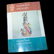 Paperback Soft Cover Cook Book Cookbook Norway's Delight Dishes and Specialities