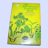 """Vintage Hard Cover Book by Richard W. Langer """" The After - Dinner Book """""""