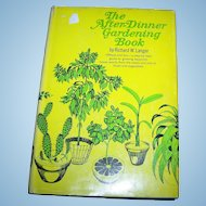 "Vintage Hard Cover Book by Richard W. Langer "" The After - Dinner Book """