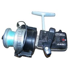 Collectible Gently Used Vintage Mitchell Fishing Rod Reel #4450 Made in France