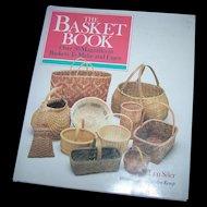"A Wonderful Vintage Hard Cover Book Titled ""  The Basket Book """