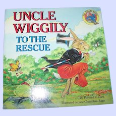Charming Soft Cover Book  Uncle Wiggily To The Rescue By Howard R. Garis