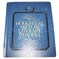 Book 6 Houghton Mifflin Literary Readers Illustrated  School Text Book Reading Learning Sharing