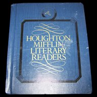 Book 6 Houghton Mifflin Literary Readers Illustrated  School TextBook Reading Learning Sharing