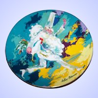 Royal Doulton MI England  Collectors Plate Clown  Punchinello A Limited Edition Plate 1978