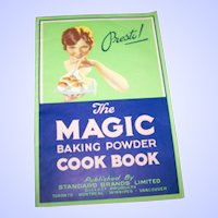 Presto The Magic Baking Powder Advertising  Cook Book Paper Back