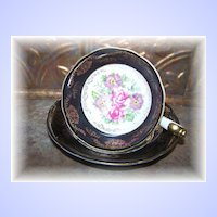 Pretty Vintage Mixed Floral Tea Cup & Saucer  Shafford