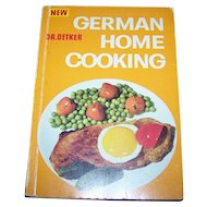 Soft Cover Cook Book New Dr. Oetkar German Home Cooking