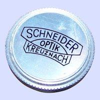 A Vintage Kreuznach Schneider Optik 19.5mm Lens Cap Metal screw Style