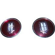 Vintage  Advertising Automobile Car Center Cap Emblem Set Ford Mercury Marquis 40 4548 ADCS 5568 4255521