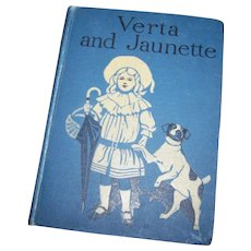 Hard Cover Book by Mrs Wynyard Thorp A Frog Fairy Tale VERTA and JAUNETTE