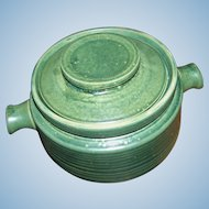 Romany Covered Pottery  Bean Pot Dish Ridgway Made In England Retro Mid-Century