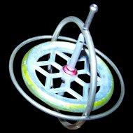 Vintage Atomic Era  Hurst Metal  Gyroscope Great For Display or FUN