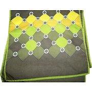 A Fun Long  Unisex Geometric Print Polyester Fashion Scarf Accessory