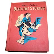 Vintage Hard Cover Children's Book Uncle Arthur's Bedtime Stories Volume 4 Illustrated