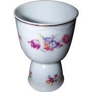 Lovely Vintage Porcelain Double Eggcup Eggcup Bavaria Germany Floral Pattern