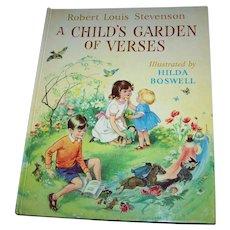 Hard over Children's Book Robert Louis Stevenson A Child's Garden of Verses