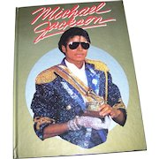 Hard Cover Book Michael Jackson Multimedia  Publications 1984