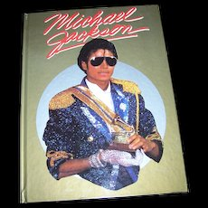 Hard Cover Book Michael Jackson Multimedia  Publications 1984