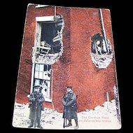 "Vintage Paper Postcard "" The German Raid on defenseless towns W.C.A.  146"