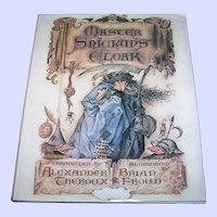 Master Snickup's Cloak Hard Cover Children's Book First U.S. Edition 1979