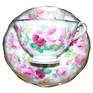 Royal Albert England  Princess Anne Tea Cup and Royal Albert England Saucer