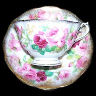 Royal Albert England  Princess Anne Tea Cup and Royal Albert England Saucer