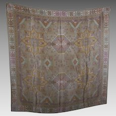 Pretty Gently Used Vintage Designer Signed Liz Claiborne Decorative Print Ladies Fashion Scarf