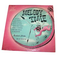 Richard Crean And His Orchestra ‎– Melody Time Record 33 1/3 Rare Collectible