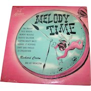 Richard Crean And His Orchestra – Melody Time Record 33 1/3 Rare Collectible