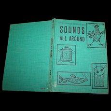 School Ex Library Reader Children's Illustrated Book Sounds All Around