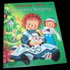 Raggedy Ann's Christmas Surprise  / Raggedy Ann's Merriest Christmas Children's Wonder Book