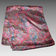Lovely Rectangular Paisley Themed Unisex Fashion Scarf Wearable ART