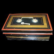 Great old Metalware Cash Box MAde in England