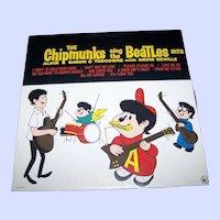 Vinyl Record LP The Chipmunks Sing The Beatles Liberty  LN510177 33 1/3 RPM