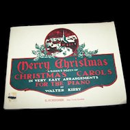 Soft Cover Music Book Christmas A Baker's Dozen of Christmas Carols