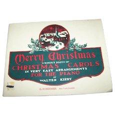 Soft Cover Music Book Christmas A Baker's Dozen of Christmas Carols