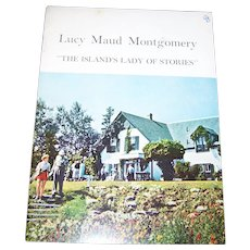 """Soft Cover Paper Back  Booklet  Lucy Maude Montgomery """" The Island's Lady of Stories """"  by The Women's Institute"""