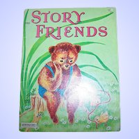 Illustrated Soft Cover Book Story Friends Saalfield 2363 by Martha Paulsen
