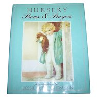 Charming Illustrated Children's Book Nursery Poems & Prayers Art of Bessie Pease Gutmann