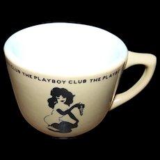A Collectible Small Soki Advertising  Mug  The PLAYBOY CLUB Jackson China HMH Publishing Co. Inc