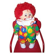 Sauerkraut Bunch Clown  Doll Vintage Original 1984 ZAPF Creations