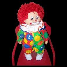 Sauerkraut Bunch Clown  Doll Vintage Original 1984 ZAPF Creations