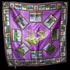 Colorful Wearable Art Souvenir Travel Scarf From CANADA