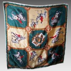 """""""Spanische Reitschule""""  WEIN  Royal Lipizzan Lippizaner Horse Silk  Scarf"""