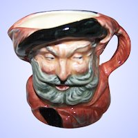 "A Small Royal Doulton Miniature ""Falstaff"" Character Mug D6519 Made in England"
