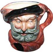 "A Small Royal Doulton Miniature ""Falstaff"" Character Mug D6519 Made in England"