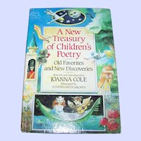 Hard Cover Children's Book A New Treasury of Children's Poetry