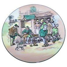 Vintage Royal Doulton Charger Plate Roger Solem EL Cobler English Translucent China